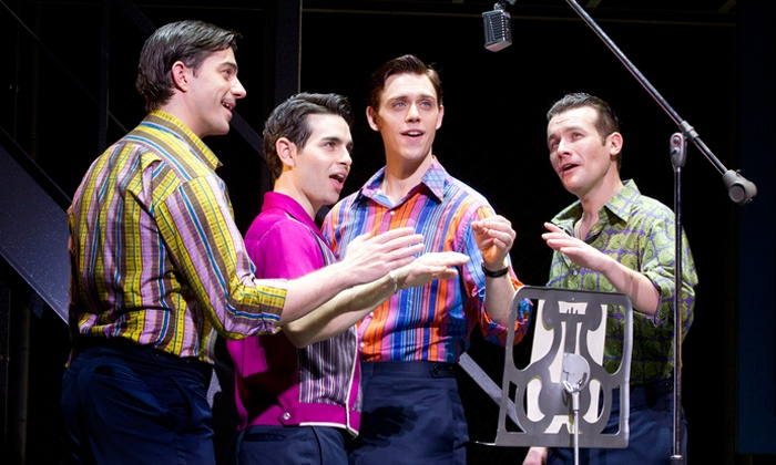 "Jersey Boys - Greensboro: ""Jersey Boys"" at War Memorial Auditorium at Greensboro Coliseum Complex on April 3 or 6 (Up to 41% Off)"