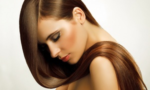 Prive Salon: $99 for a Global Keratin Straightening Treatment or $109 with a Style Cut at Prive Salon, Maribyrnong (Up to $310 Value)