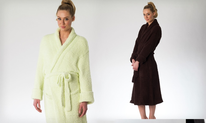 Shaggy Chic Microchenille Robes: $22 for Shaggy Chic Microchenille Robe ($88 List Price). Multiple Colors and Sizes Available. Free Shipping and Returns.