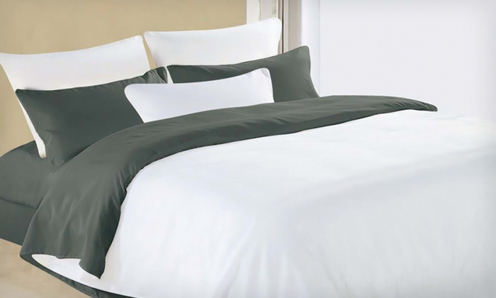 Essentially Home Living Microfibre-Sheet Sets: Essentially Home Living Microfibre-Sheet Sets (Up to 69% Off). 8 Colours Available. Free Returns.