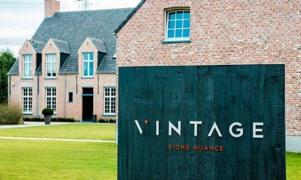 """Menu à 5 services """"VINTAGE"""" au Bistro Vintage signé Nuance à partir de 42,- €"""