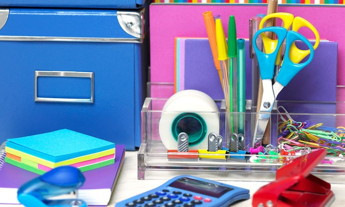Generation Office: Office Supplies at Generation Office (50% Off). Three Options Available.