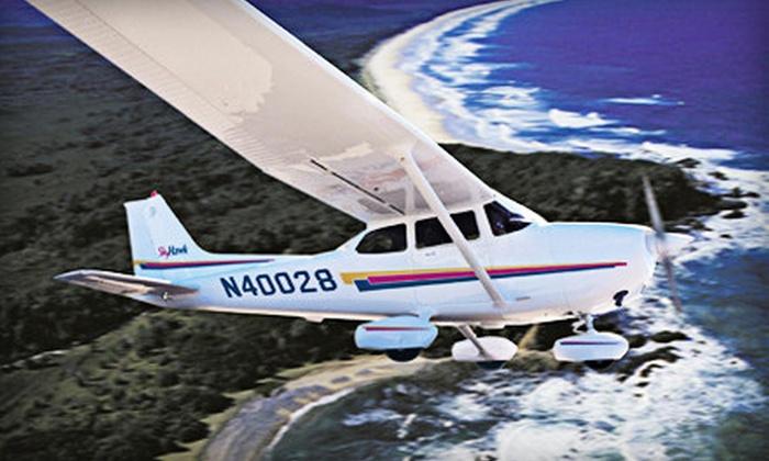 Wings Aloft BFI - Georgetown: Introductory Flight Lesson or Introductory Flight Package from Wings Aloft BFI (Up to Half Off)