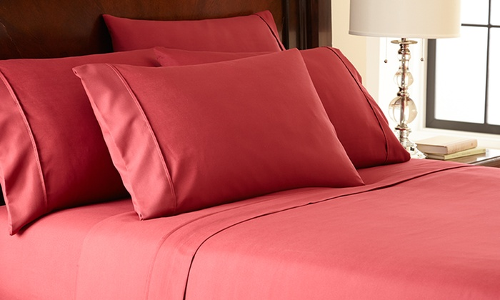 Hotel New York 6-Piece Microfiber Sheet Sets: Hotel New York Microfiber 6-Piece Sheet Set (Up to 71% Off). Multiple Colors Available. Free Shipping and Returns.