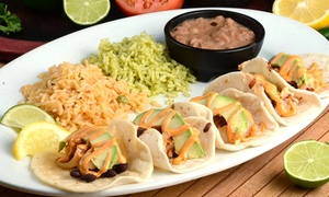 Cantina #1: Mexican Food for Lunch or Dinner at Cantina #1 (50% Off)