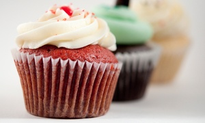 Flirt Cupcakes: CC$8.99 for One Dozen Pre-Assorted Mini-Cupcakes at Flirt Cupcakes (CC$16.95 Value).