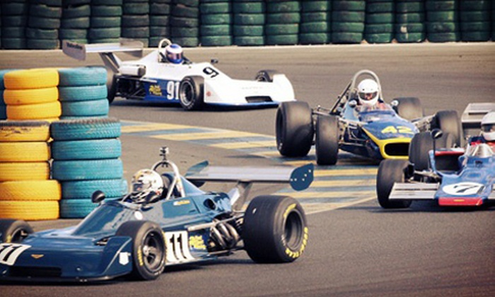 Classic Sports Racing Group presents The Charity Challenge Vintage Racing - Sears Point: The Charity Challenge from Classic Sports Racing Group at Sonoma Raceway on October 5 and 6 (Up to 52% Off)