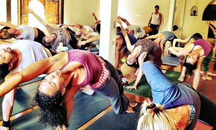 One Month of Unlimited Yoga Classes or 10 Classes at Yoga at The Raven (Up to 81% Off)