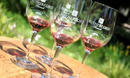Wine and Chocolate Pairing for Two or Four at Rutherford Ranch Winery in St. Helena (Up to 55% Off)