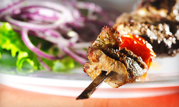 Arber Cafe - Princeton Heights: $10 for $20 Worth of Italian and Albanian Food and Drinks at Arber Cafe