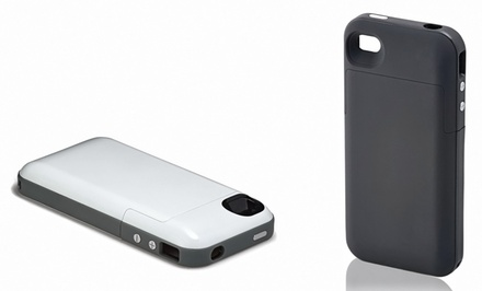 groupon daily deal - Mophie Juice Pack iPhone Case (Manufacturer Refurbished) (Up to 60% Off). Multiple Designs. Free Shipping and Returns.