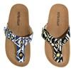 Olivia Miller Ricina Women's Studded Buckle Cork Sandals