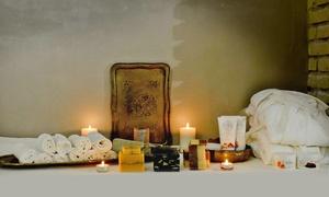 CONCEPT IMAGE: Percorso benessere orientale in area riservata con massaggio e trattamento viso per 2 persone in zona Testaccio