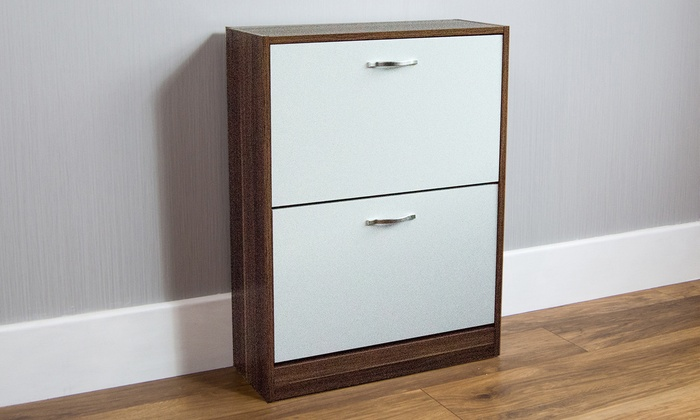 Two- or Three-Drawer Shoe Cabinet from £29.98 (14% OFF)