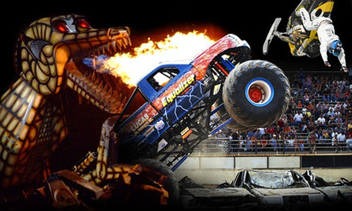 Extreme Monster Truck Nationals - The Palace of Auburn Hills: Extreme Monster Truck Nationals at The Palace of Auburn Hills on Saturday, October 27, at 7 p.m. (Up to 47% Off)