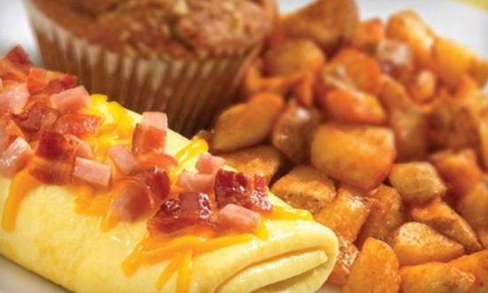 Perkins Restaurant & Bakery - Multiple Locations: American Cuisine at Perkins Restaurant & Bakery (Half Off). Two Options Available.