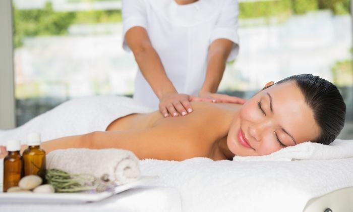 Volume Salon - Mary - Wauwatosa: $39 for One 30-Minute Hawaiian Massage and Sea-Salt Scrub at Volume Salon - Mary ($80 Value)