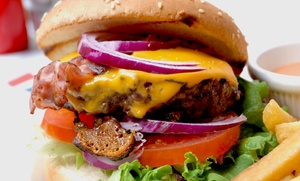 Croxley's Ale House: Burgers and Tap Craft Beer for Two or Four with Appetizers at Croxley's Ale House (Up to 52% Off)