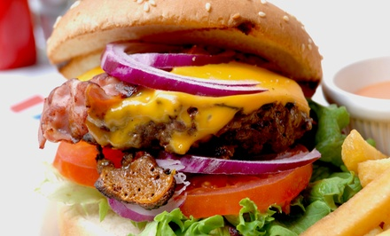 Burgers and Tap Craft Beer for Two or Four with Appetizers at Croxley's Ale House (Up to 52% Off)