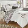 Danila Greek Key Embroidered Reversible Comforter Set (7- or 9-Piece)
