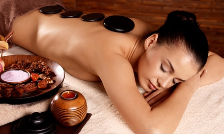 $109 for Spa Package with Hot-Stone Massage, Facial, and Body Wrap at Spa At The Mansions ($475 Value)