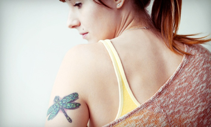Inflicting Ink Tattoo & Tattoo Removal - Portsmouth: 1 Laser Tattoo-Removal Session for Area of Up to 3, 5, or 8 Sq. Inches at Inflicting Ink Tattoo Removal (Up to 75% Off)