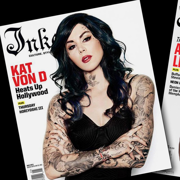 Freshly Inked Magazine Subscription | Buy at Newsstand.co.uk | Tattoo