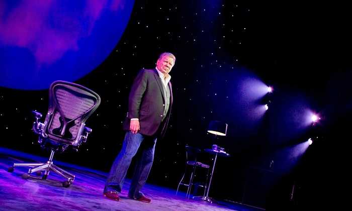 """Shatner's World: We Just Live In It - Tilles Center for the Performing Arts: """"Shatner's World: We Just Live In It"""" at Tilles Center for the Performing Arts on Saturday, January 10 (Up to 46% Off)"""
