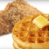 Up to 56% Off Chicken and Waffles