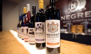 Negret Wine Company: Winery Tour, Guided Tasting, and $5 Retail Credit per Person for Two or Four at Negret Wine Company (52% Off)