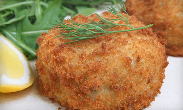 Gourmet Carolina - Fort Mill: $56 for 16 Jumbo-Lump Crab Cakes from Gourmet Carolina ($119.99 Value)