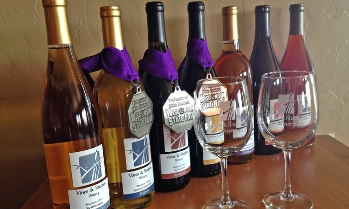 Vines & Rushes Winery - Ripon: Wine Tasting for Two or Four at Vines & Rushes Winery (45% Off)