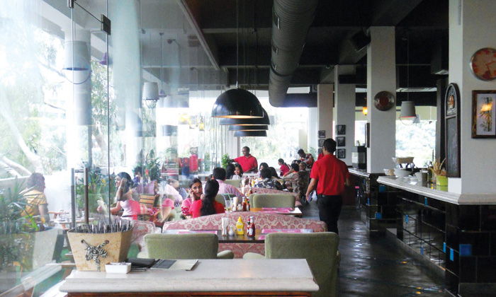 Girl In The Cafe Elante Menu
