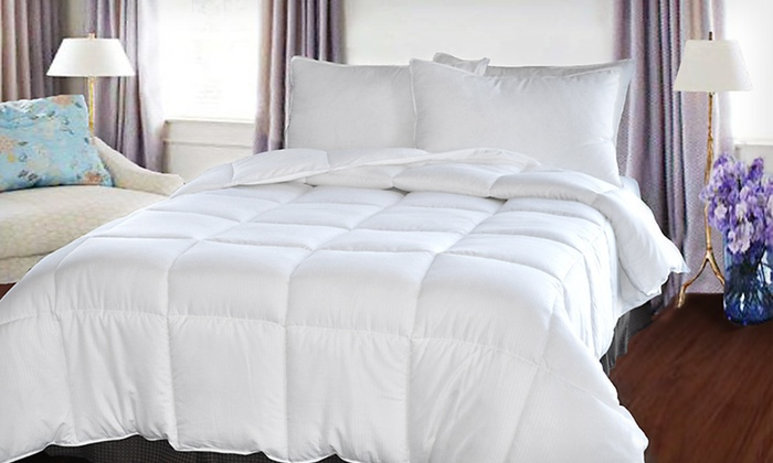Natural Comfort Microfiber Comforters: Natural Comfort Microfiber Down-Alternative Comforter (Up to 67% Off). Four Sizes Available. Free Shipping and Returns.