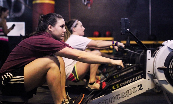 Intrepid Gym - Hoboken: Five or Ten Rowing Boot Camp Classes at Intrepid Gym (Up to 70% Off)