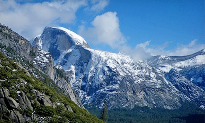 Extranomical Tours - Civic Center: Tour of Yosemite National Park or to Premium Outlet Stores and a Winery from Extranomical Tours (Up to Half Off)