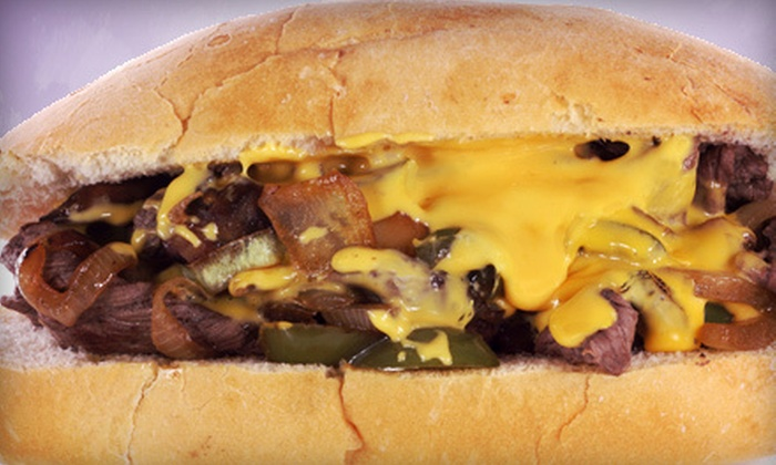 The Cheese Steak Shop - Downtown San Jose: Philly Cheesesteak Meal for One or Two with Fries and Drinks at The Cheese Steak Shop (Up to 52% Off)