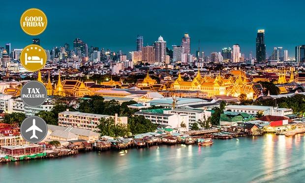 Thailand: Twin Hotel Stay+Flights 0