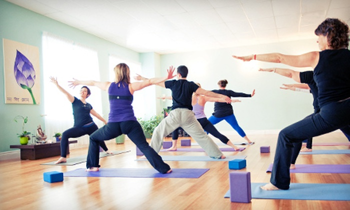 All Yoga - Dartmouth: $45.99 for 10 Classes or One Month of Unlimited Classes at All Yoga ($149.50 Value)