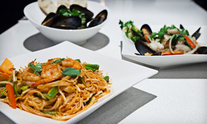 Openrice Asian Fusion & Lounge - Ottawa: $15 for $30 Worth of Asian-Fusion Food for Two at Openrice Asian Fusion & Lounge
