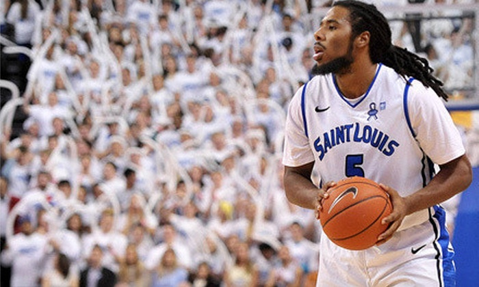 Saint Louis University Billikens - Chaifetz Arena: Saint Louis Billikens Men's Basketball Game at Chaifetz Arena on February 19 at 8 p.m. (Up to 52% Off)