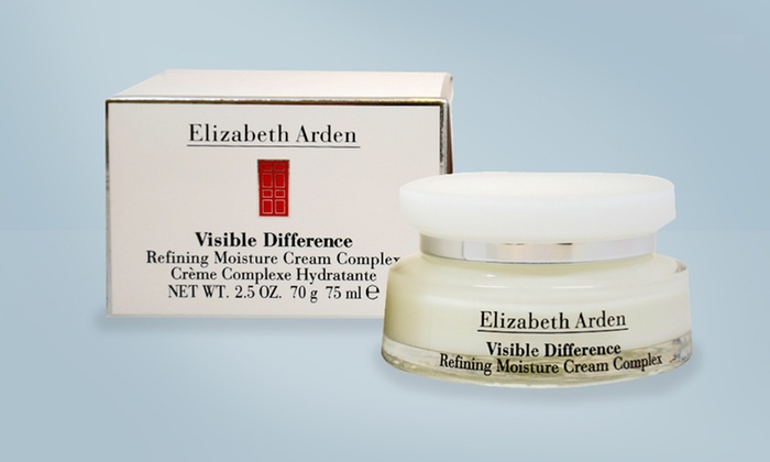 elizabeth arden visible difference refining moisture cream 75 ml