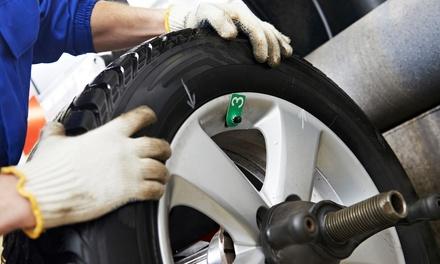 Kompletter Winter- oder Sommer-Auto-Check inkl. Reifenwechsel bei abc performance (60% sparen*)
