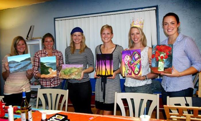 Xpressive Arts Center - Poway: BYOB Painting Class for One or Two at Xpressive Arts Center (Up to 65% Off)
