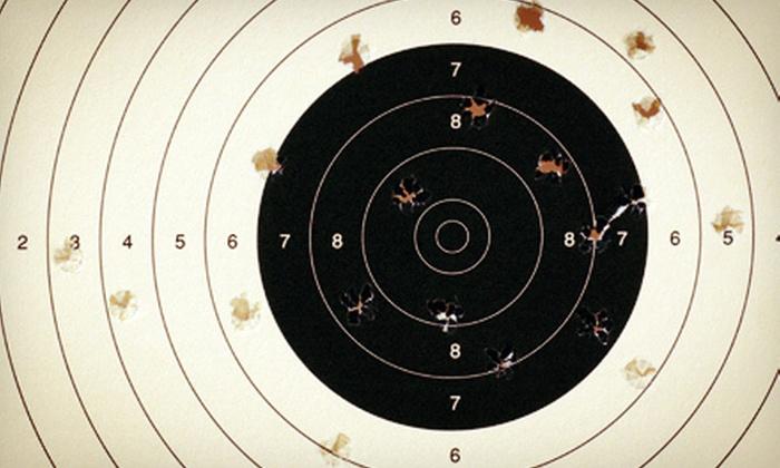 Miami Guns Inc. - Miami Guns Inc.: Shooting-Range Outing for Two at Miami Guns Inc. (Up to 62% Off)