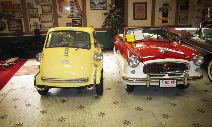Canton Classic Car Museum - Canton: Canton Classic Car Museum Visit for Two or Four (Up to Half Off)