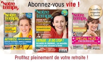 Abonnement d'1 an au magazine