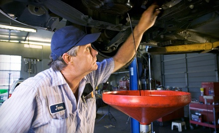 One or Three Conventional- or Synthetic-Oil Changes at Franklin Oil Stop (Up to 58% Off)