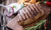Fuego Steakhouse - Townsite: Steakhouse Cuisine for Dinner for Two or Four or More at Fuego Steakhouse (Up to 42% Off)