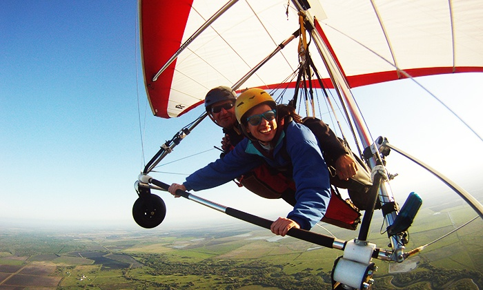 Cowboy Up Hang Gliding - Houston : $199 for a 3K Discovery Flight from Cowboy Up Hang Gliding ($289 Value)